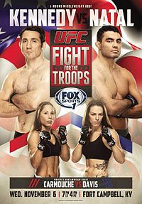 Watch the UFC Fight for the Troops 3 weigh-ins live on MMASucka.com at 2pm PT/5pm ET