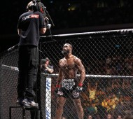 Tyron Woodley, one of the biggest winners in Macau on Saturday night