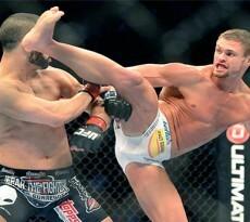 MMA: UFC 158-Makadessi vs Cruickshank