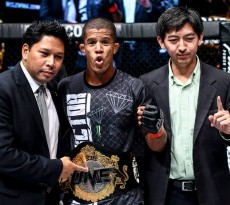 Adriano Moraes, is now ONE FC's first Flyweight champ