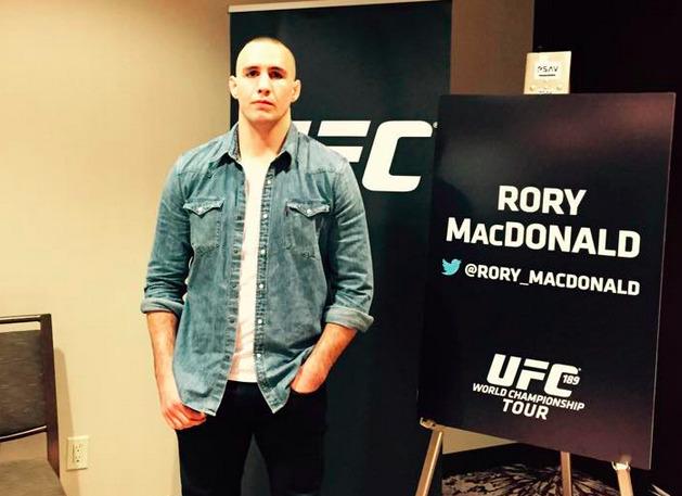 Rory MacDonald Signs, UFC 174