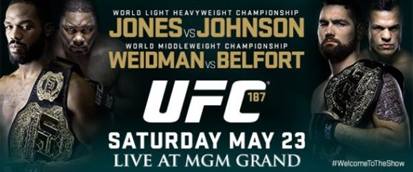 UFC 187 Results