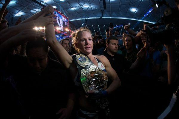 UFC 193 Holly Holm