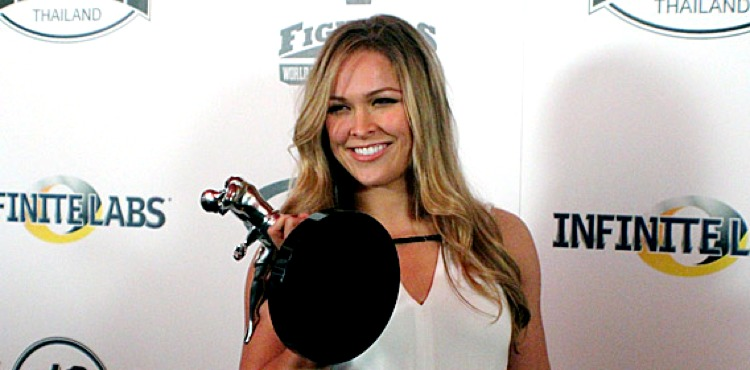 Rousey-MMA-Awards Fighters Only announces FOX Sports as official partner of World MMA Awards