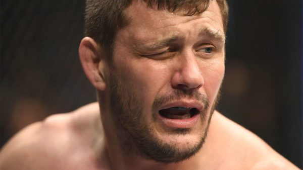 Matt Mitrione and eye pokes