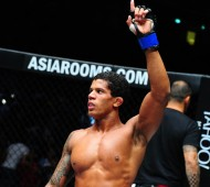 Former ONE flyweight champion Adriano Moraes