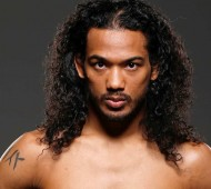 CHICAGO, IL - JANUARY 22:  Benson Henderson poses for a portrait during a UFC photo session at the Hard Rock Hotel on January 22, 2014 in Chicago, Illinois. (Photo by Josh Hedges/Zuffa LLC/Zuffa LLC via Getty Images) *** Local Caption *** Benson Henderson