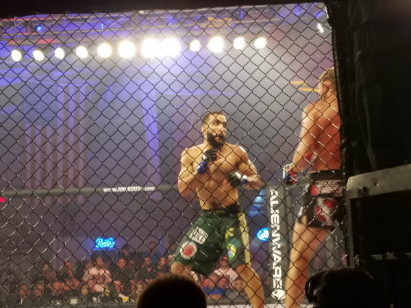 """Belal """"Remember the Name"""" Muhammad had the Eye of the Tiger from the word """"go."""""""