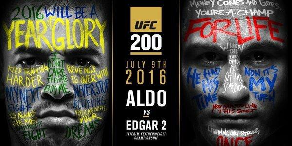 Aldo-x-Edgar-II UFC 200: MMASucka Staff Q & A