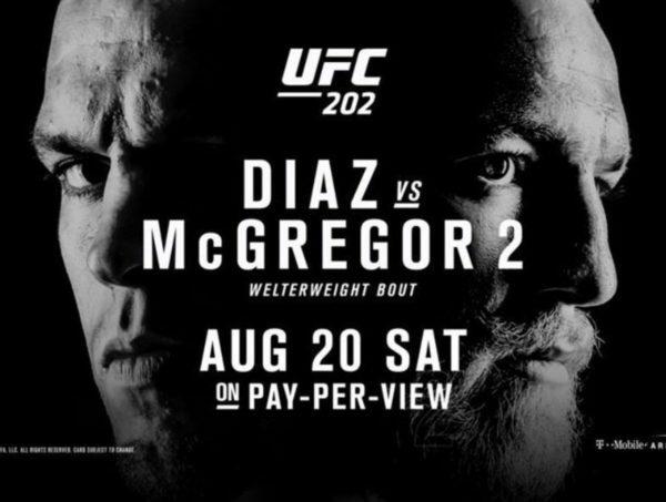 UFC 202 Bad Blood Diaz vs. McGregor 2
