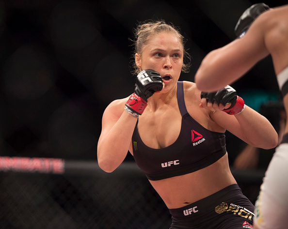 Ronda Rousey Talking Combat with Chris Toplak