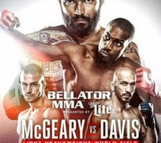 Bellator 163: McGeary vs. Davis