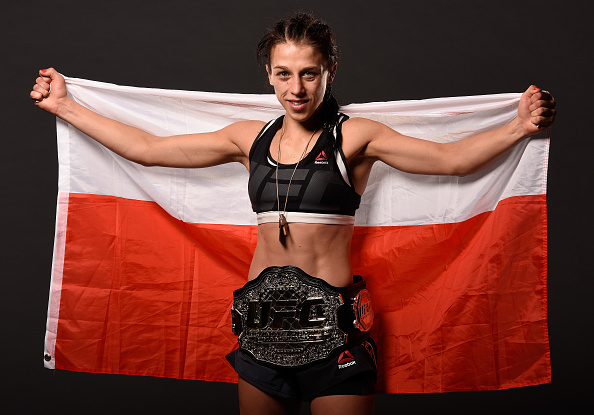 showcase for Joanna Jedrzejczyk