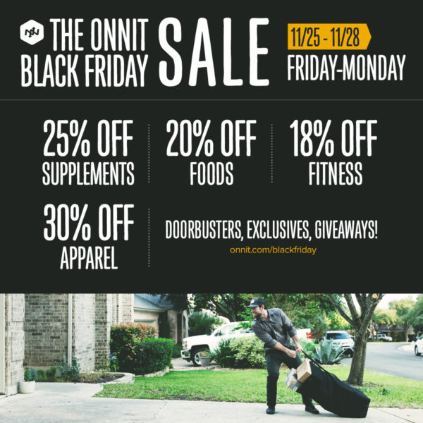 Onnit Black Friday