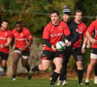 Dublin , Ireland - 9 November 2016; Canada captain Aaron Carpenter during squad training at Wanderers RFC in Merrion Road, Dublin. (Photo By Cody Glenn/Sportsfile via Getty Images)
