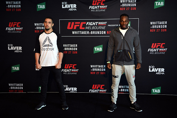 UFC Fight Night 101 Weigh-in Results
