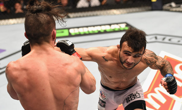 Lineker versus Dillashaw pre-fight stats