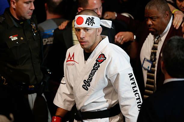 GSP UFC 217