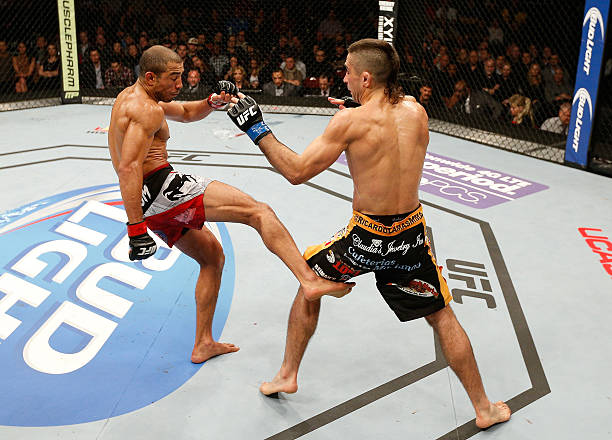 The myth of Jose Aldo's leg kicks - MMASucka.com Petr Yan