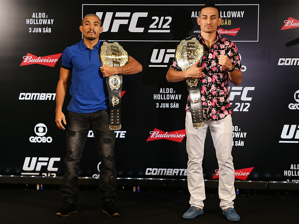 UFC 212 Weigh-In Results