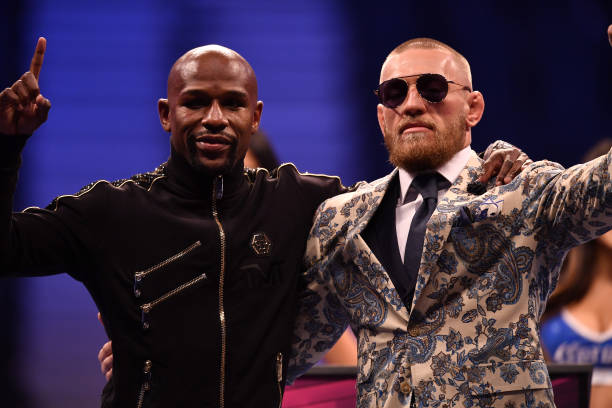 McGregor versus Mayweather