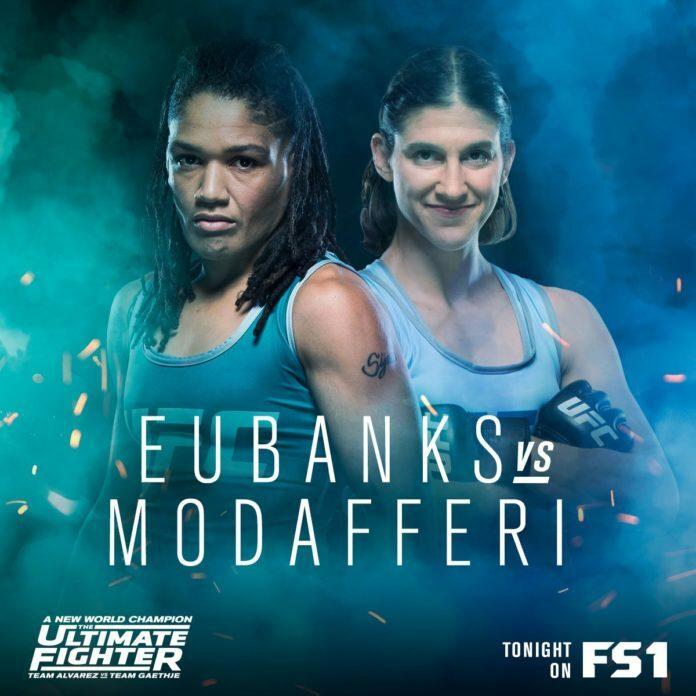 TUF 26 Episode 12 - Sijara Eubanks Vs. Roxanne Modafferi