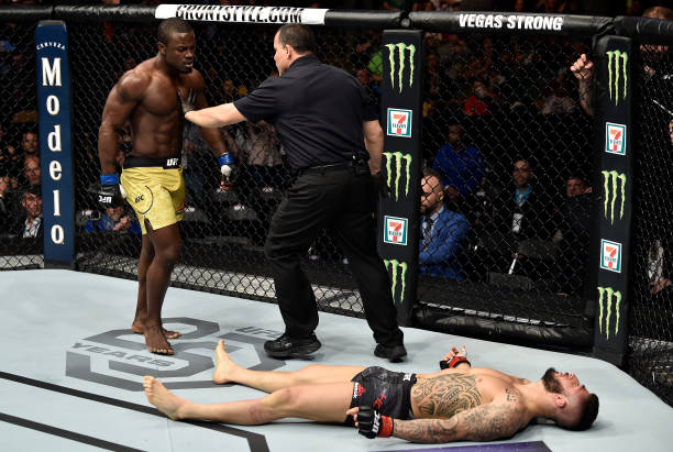 KO of January 2018: Abdul Razak Alhassan brings Thunder at UFC 220