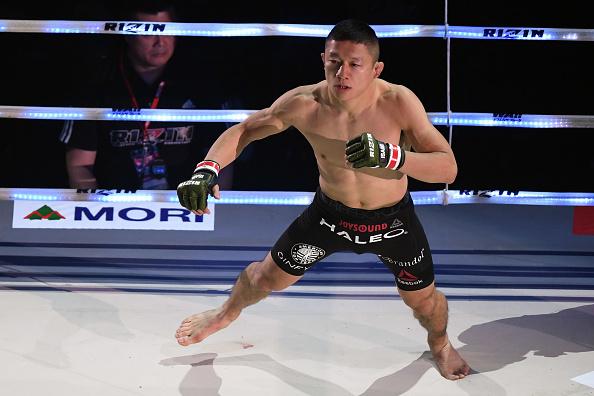 Mejor luchador de 2017. Kyogi-Horiguchi