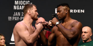 Stipe Miocic vs Francis Ngannou Headlines UFC 260