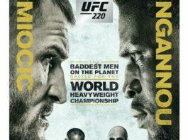 UFC 220 Poster