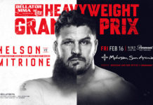 Nelson vs. Mitrione live results from press row
