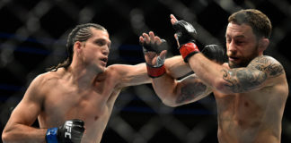 Brian Ortega knocks out Frankie Edgar