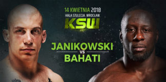 Damian Janikowski faces Yannick Bahati