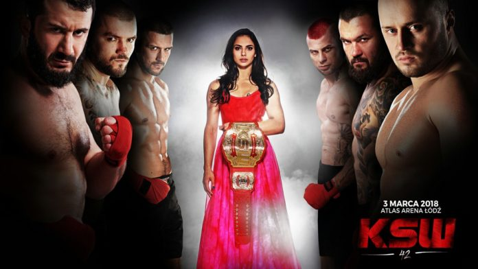 KSW 42 Weigh-In Results and Replacement Fight