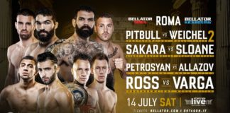 Bellator Rome announced for July; features stacked double-header