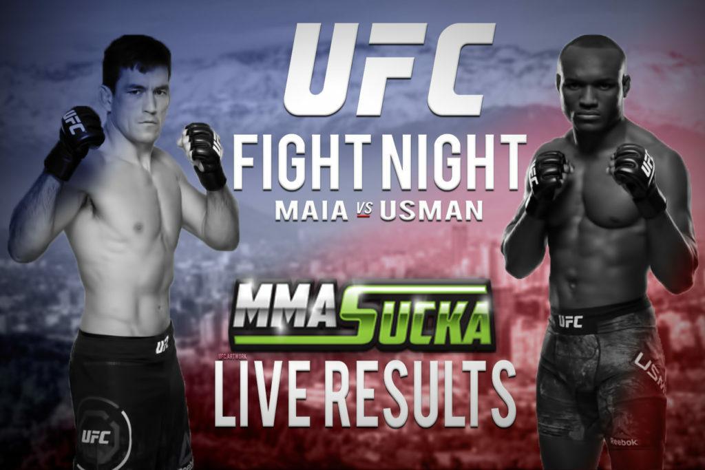 UFC Fight Night 129 Results