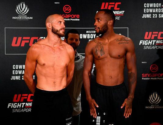 UFC Fight Night 132 staff picks