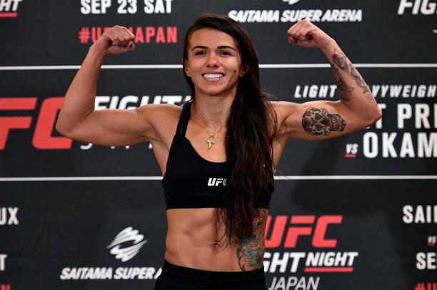 Fighter Of Interest Claudia Gadelha Mmasuckacom