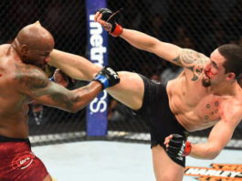 Robert Whittaker and Yoel Romero went to war at UFC 225