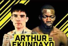 Cage Warriors 95's Mike Ekundayo