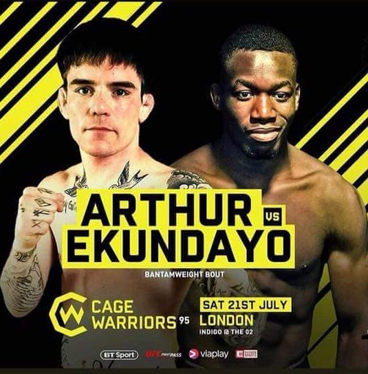"Cage Warriors Live Stream Free: Cage Warriors 95's Mike Ekundayo: ""My Style Is [Ed Arthur"