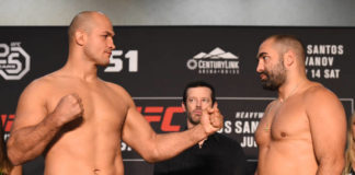 UFC Fight Night 133 weigh-in results