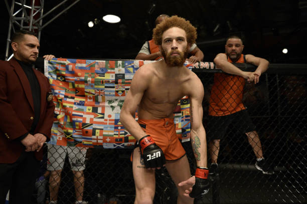 Luis Pena represents Arkansas MMA