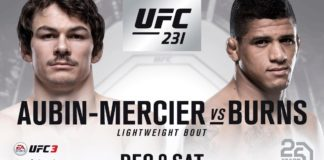 Olivier Aubin-Mercier vs Gilbert Burns