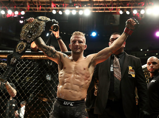 UFC 227 featured a number of strong performers like TJ Dillashaw and Renato Moicano.
