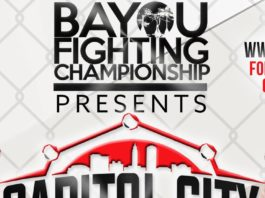 Capitol City Fight Night Results