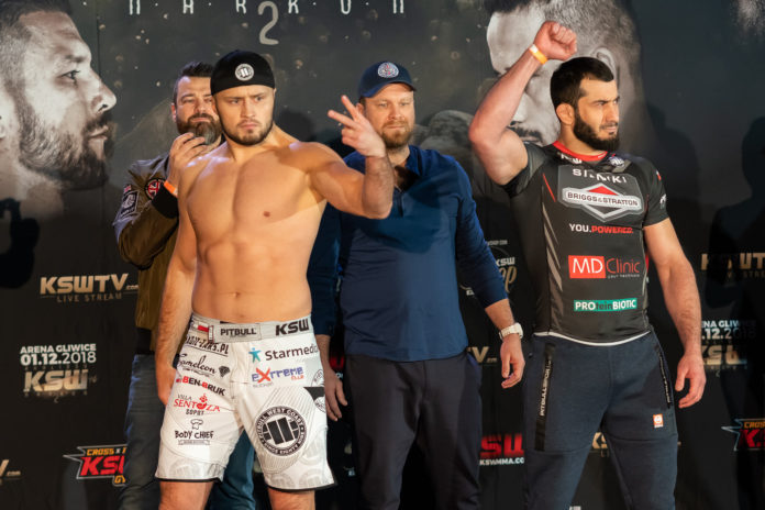 KSW 46 Weigh-in