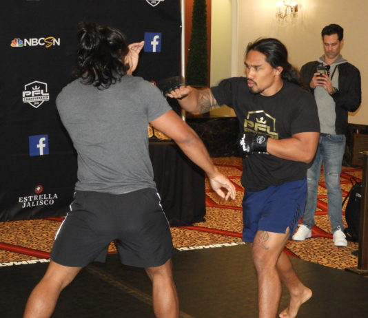 PFL 11 Open workout