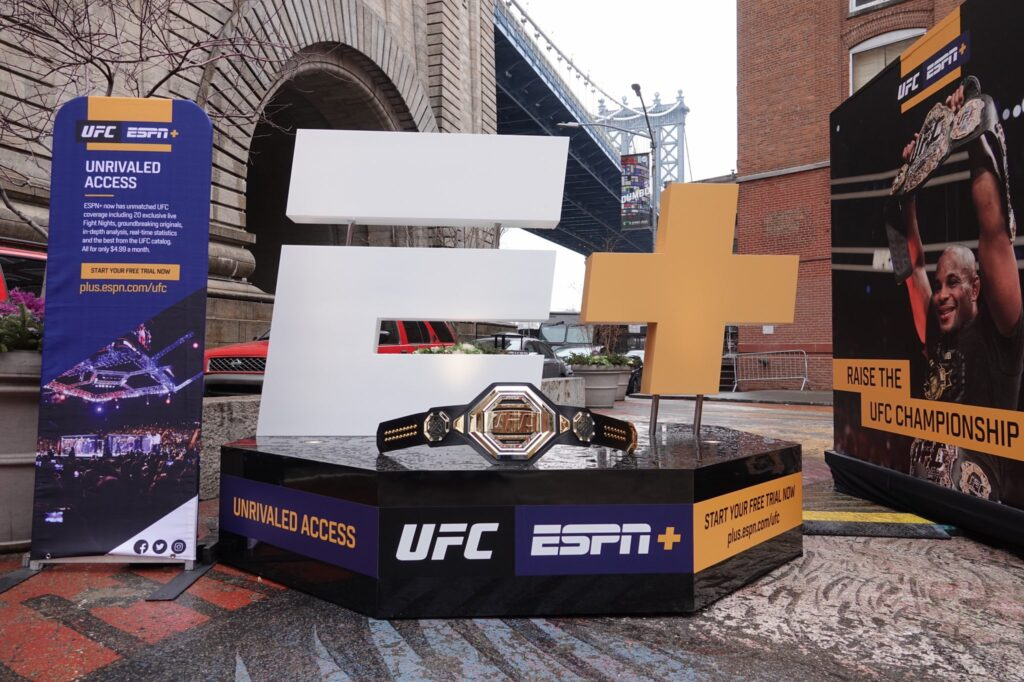 New UFC Title Belt Getting Mixed Reviews, Will Premiere on ESPN
