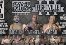 Fightville 3 Results